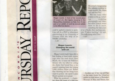 Concordia University's Thursday Report, June 11, 1998